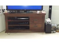Wooden TV Unit (corner)
