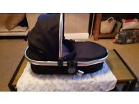 Black twin carrycot icandy peach 2