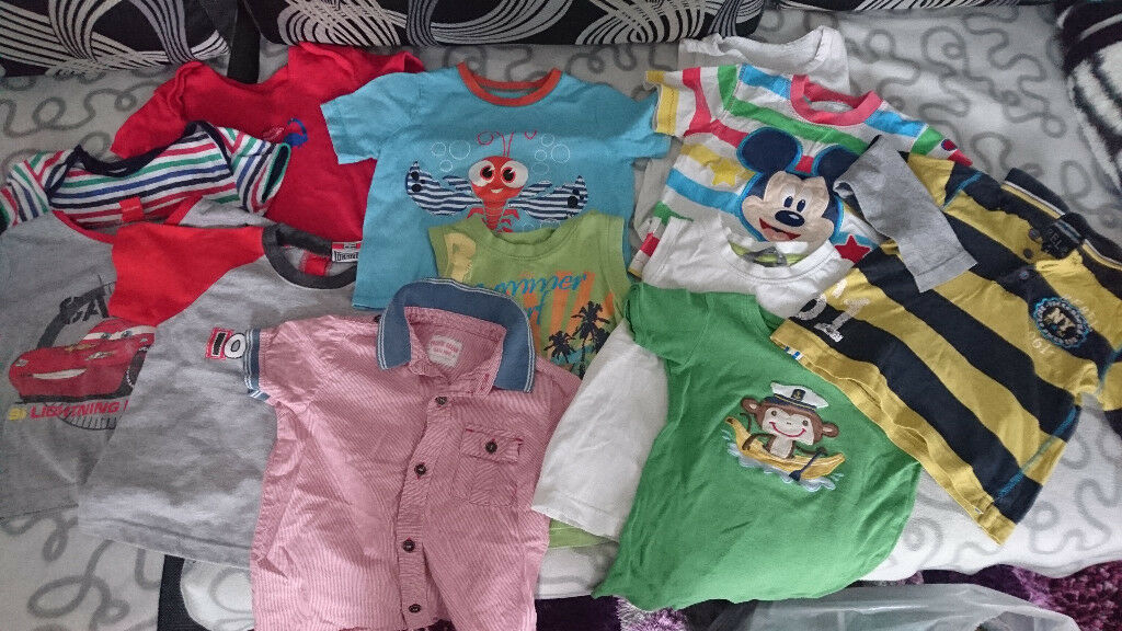 baby boy clothes 2- 3 years, 47 items, good condition