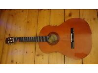 Classical guitar with bag, piezo, and Rocksmith