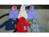 6-9 months girls coat/jacket bundle