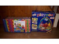 Discovery Alphabet and Numbers Play Mat + GALT Playnest & gym