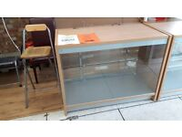 Qty 2 shop display counters