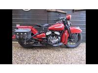 Harley WL WLA WLC 750 1943