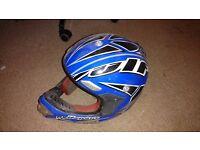 Wulfsport Motocross / motorbike helmet