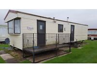 Cheap private sale static caravan for sale. No change over fee to pay INGOLDMELLS, SKEGNESS CHAPEL