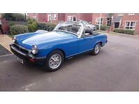 Mg midget 1976 recently been restroed