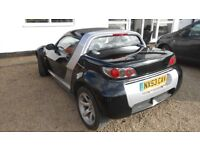 Smart Roadster 2003 low mileage electric roof, full MOT same owner last 8 years