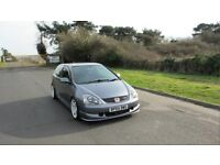 Civic Type R Cosmic Grey A/C SAT NAV (superb example)