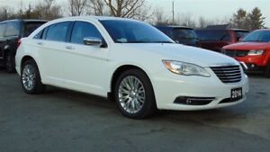 2014 Chrysler 200 LIMITED- HEATED LEATHER-SUNROOF- EXT WARRANTY