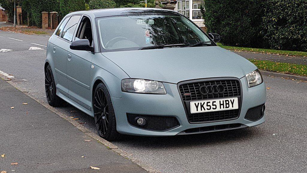 Audi S3 Replica In Matt Grey A3 2 0 Tdi Custom Modified Conversion S3 Body Kit In Ashton Under Lyne Manchester Gumtree