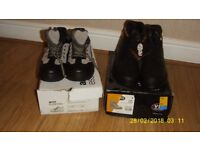 Two Pairs of Safety Boots Size 12 New never been worn.