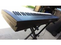 Korg SP200 Piano keyboard in good working condition in Black