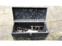Antique artisan tool box in good condition