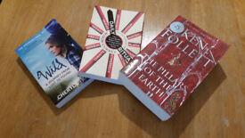 Books: Wild, Daily Rituals, TOEFL, The Pillars of the Earth