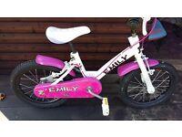 Girls bike.
