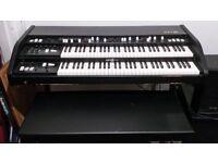 KeyB Duo (Mark 1) 2 manual Clonewheel organ (Hammond B3 replica)