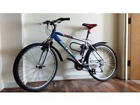 Raleigh attitude Mountain Bike (with road cruiser tyres!)