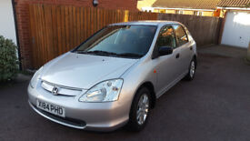 !!! Honda Civic 1.4 16v 2001 5 Door Petrol/Lpg !!!