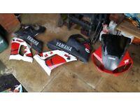 Yamaha r6 5eb full fairing set