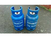 2 x Calor 7kg butane gas bottles