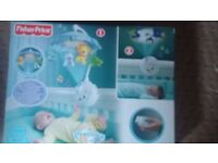 Fisher-Price Precious Planets Projection Mobile with box AS NEW