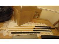 snooker/ pool table sticks