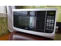 De'Longhi EG820CWW 20L Microwave with Grill (Used)