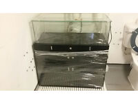 Retail display units LED Glass counter! lockable! mobile phone. LAST ONE LEFT, MAKE ME AN OFFER