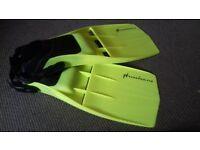 Scuba/snorkelling large fins