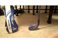 Mizuno Hybrid JPX900 19degree (adjustable +/-2degree. Regular flex Fujikura shaft. Excellent cond.