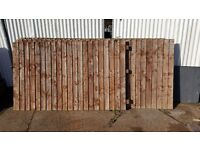 Close Board fence Panels
