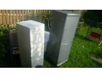 2 fridge freezers for scrap