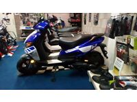 £100 OFF. MOTORINI GP125i Brand new scooter, learner legal commuter. Finance options available.