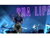 Dua Lipa concert - 2x tickets for sale - Alexandra Palace, London 20th April 2018 - make me an offer