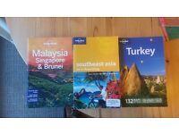 lonely planet books southeast asia, Malaysia, Singapore and Brunei & turkey RH10