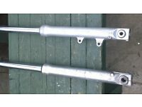 yamaha xv 535 virago front forks good condition £50 or swap?