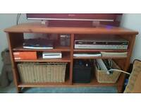 Wood Corner TV stand/ unit