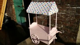 CHILDS TOY CANDY CART / SWEET CART