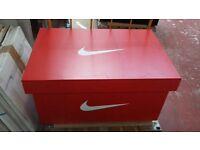 Giant Nike shoe box