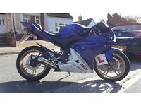 YAMAHA YZF 125CC - Immaculate condition, low mileage, engine untouched.