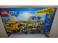 Lego 66523 City Super Pack 3-in-1, includes 60060, 60053 & 60055 (Retired Sets)
