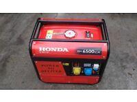 Honda generator 6.5kva