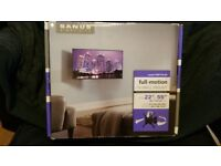 """SANUS Simplicity SMF115 Full-Motion TV Wall Mount - fit 22"""" to 55"""" TV"""