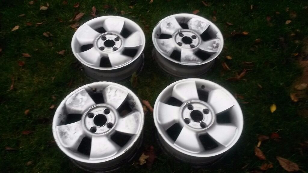 Four Ford Puma Wheels Rims Pcd X With Original Centre Caps Fit Ford Ka Fiesta Puma