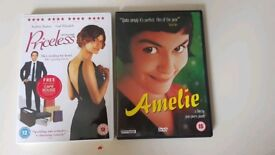 Audrey Tautou DVD Amelie and Priceless