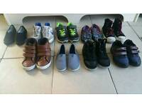 Boys shoes size 10 and 11