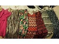 Size 6/8/10 women's clothes. Dresses, cape and mac coat