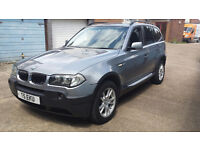 BMW X3 2.5I SE A U T O M A T I C 2004 PRIVATE PLATE 1 YRS MOT IMMACULATE CONDITION