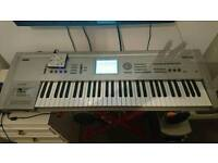 For sale Korg triton with case and stand